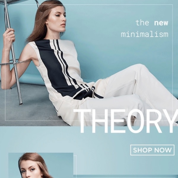 The Master of Minimalism: Theory Spring 2018 Collection