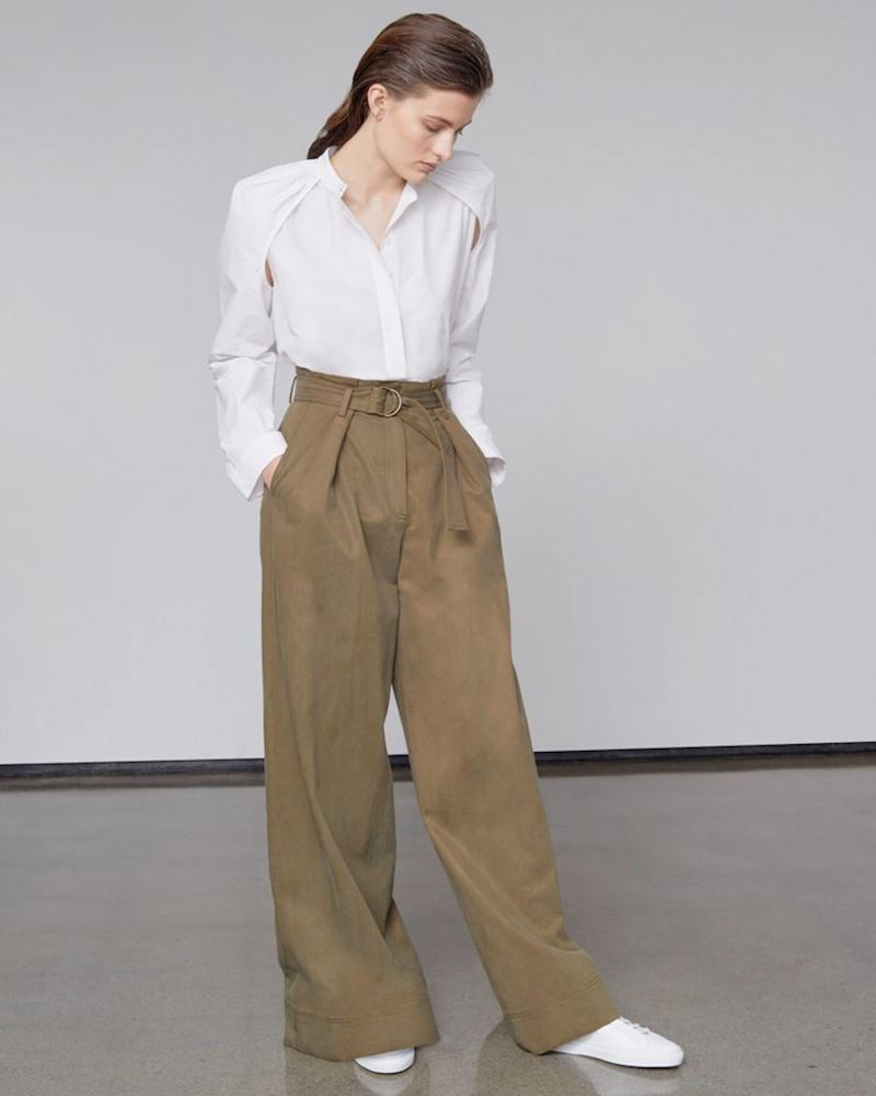 Ulla Johnson Rhodes High Waisted Trouser