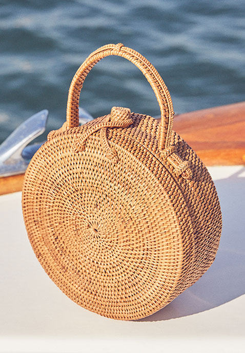 ellen & james Lou Basket Bag