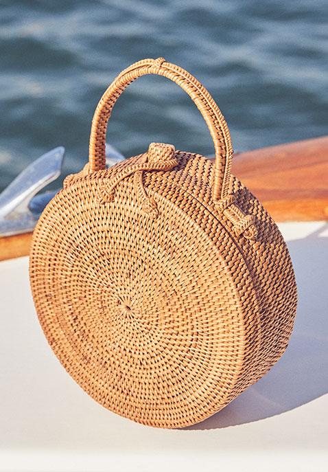ellen & james Lou Basket Bag