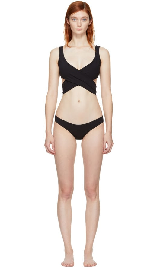 Lisa Marie Fernandez - Black Marie Louise Bikini