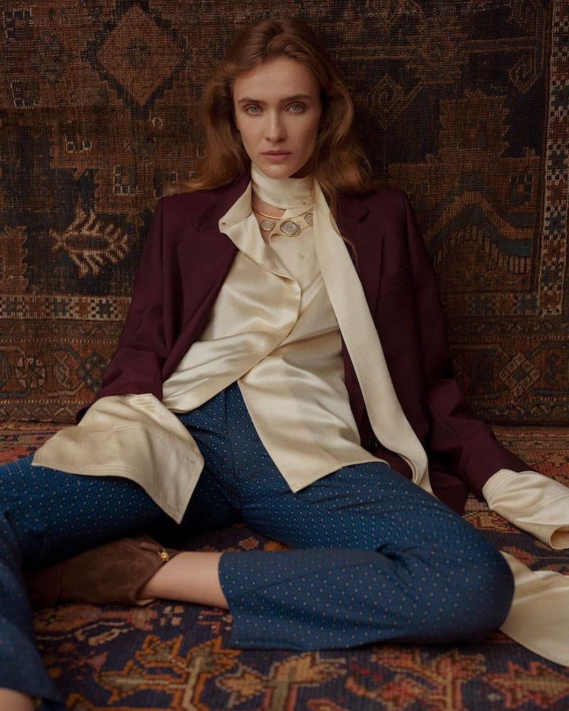 Acne Studios Single-Breasted Wool Blazer
