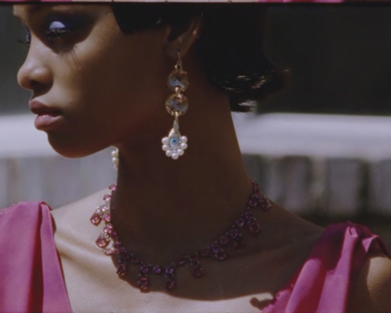 BECK Jewels Evil Eye Lolita Trio Earrings