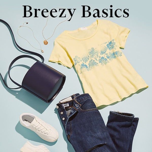 Breezy Basic: Everyday Essentials for Summer 2018