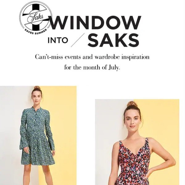 Windows Into Saks // Can't Miss New Arrivals for July 2018