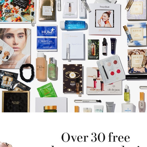 Free Travel Beauty Gifts at Neiman Marcus