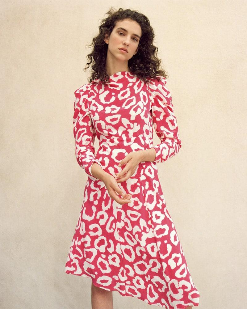 Isabel Marant Carley Silk Crêpe De Chine Dress