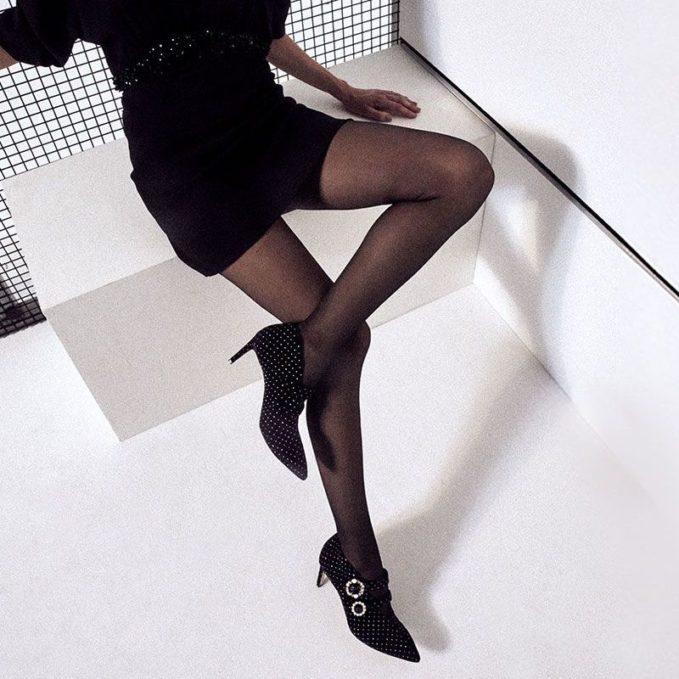 Jimmy Choo Larissa Velvet Ankle Boots