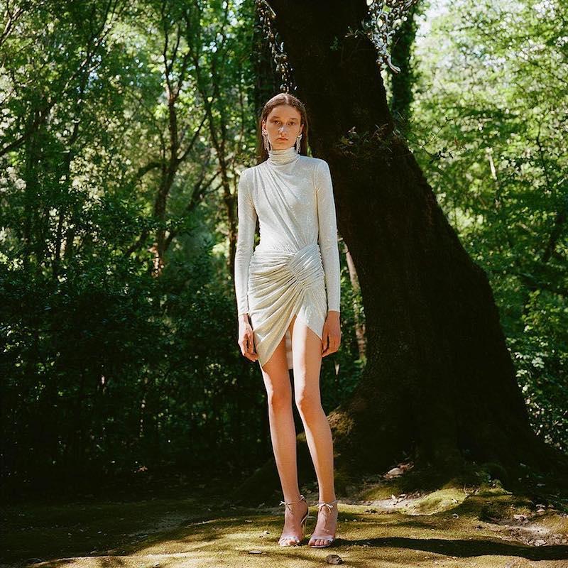 LVR Editions x Alexandre Vauthier Hologram Crystals Mini Dress 1