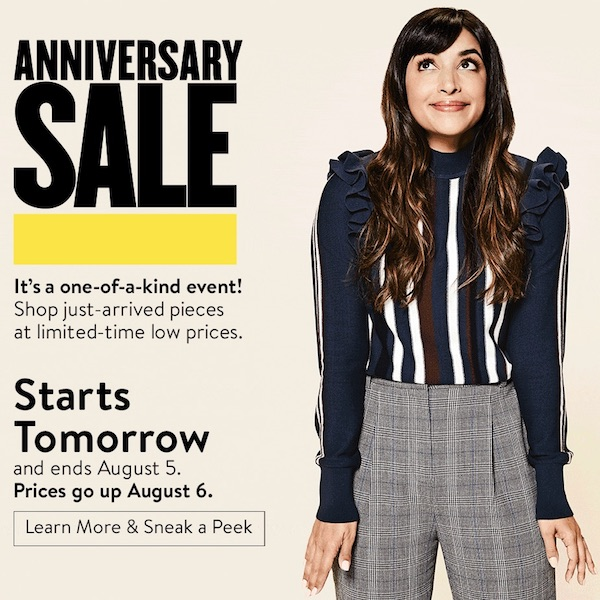 NORDSTROM Anniversary Sale 2018 Starts Tomorrow