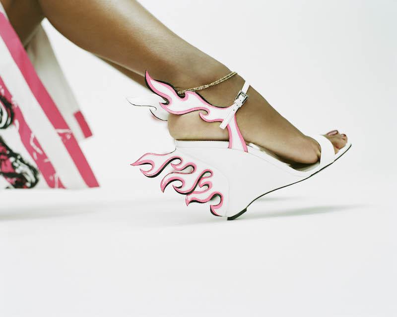 Prada x mytheresa.com Patent Leather Sandals