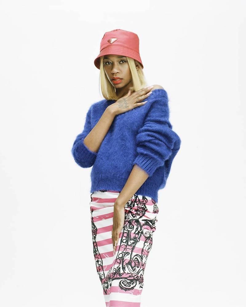 Prada x mytheresa.com Printed Cotton Skirt