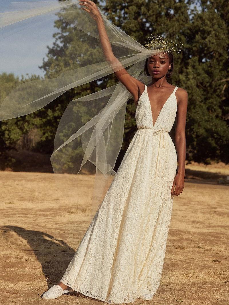 Reformation Montego Dress in Magnolia
