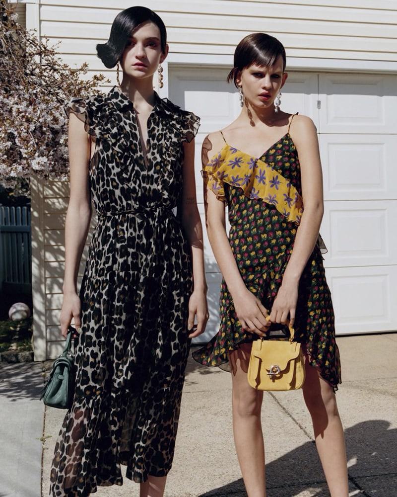 Robert Rodriguez Leopard-Print Silk Maxi Dress