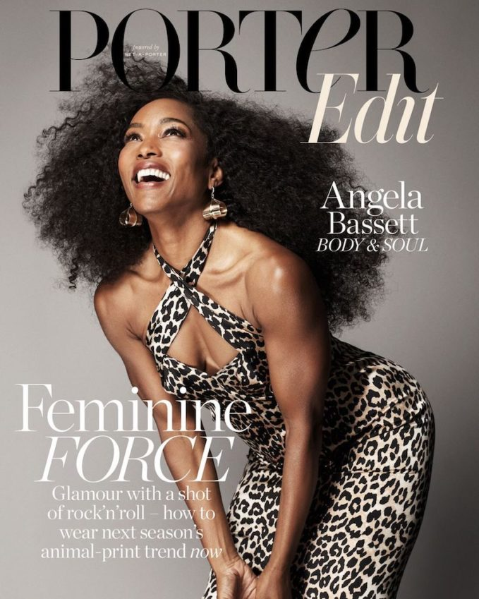 Strength Becomes Her: Angela Bassett for The EDIT