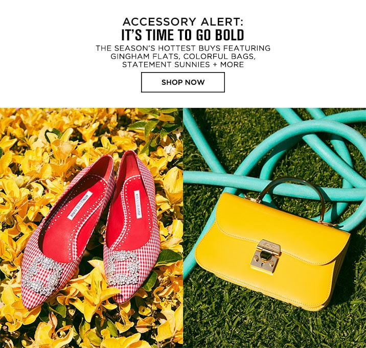 Accessory Alert: Its Time To Go Bold - Shop Now