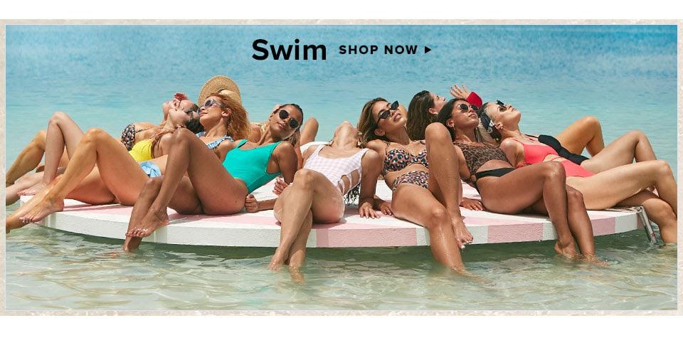 Summer Dress Code. Shop Swim.