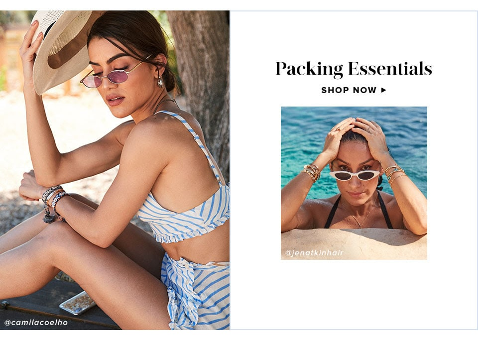 Looks We Love: Summer in Ibiza. Shop Packing Essentials.