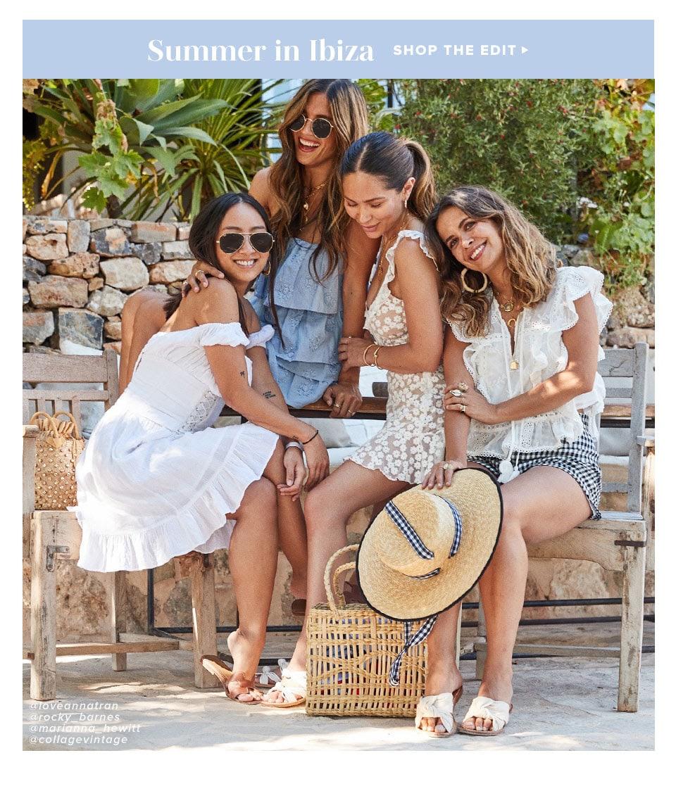 Looks We Love: Summer in Ibiza. Shop the Edit.