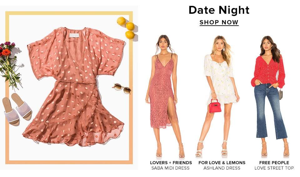 Weekend Ready. Shop Date Night.