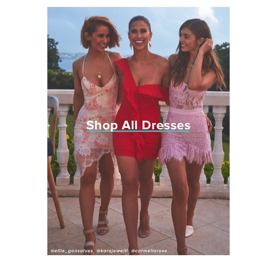 Shop All Dresses.