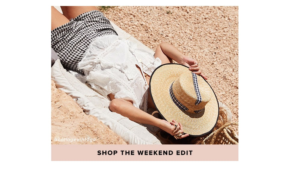 Shop The Weekend Edit