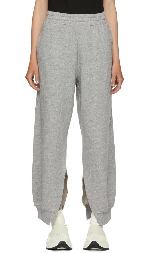 MM6 Maison Martin Margiela - Grey Slit Sweatpants
