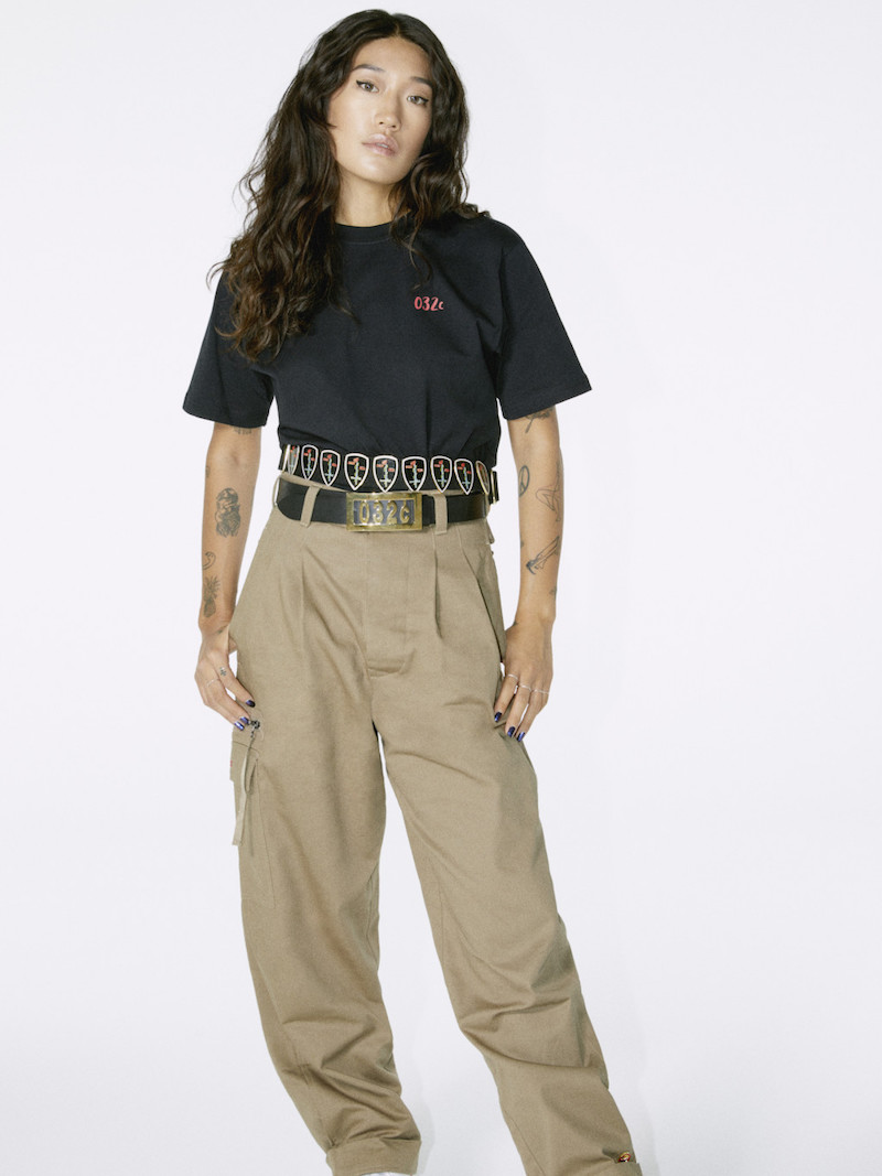 032c Black Resist T-Shirt
