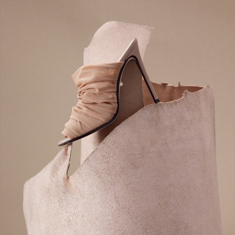 ALEVÌ Milano Afef Tulle Mules