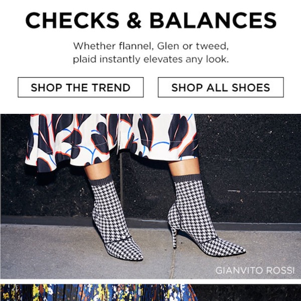 Checks & Balances: Fall 2018 Shoes Trend