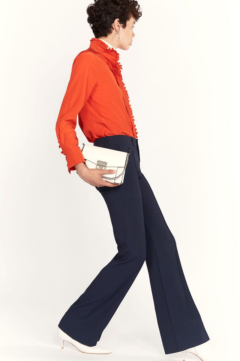 Chloé Cady Mid-Rise Trousers