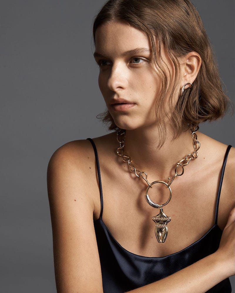 Chloé Femininities Chain Necklace