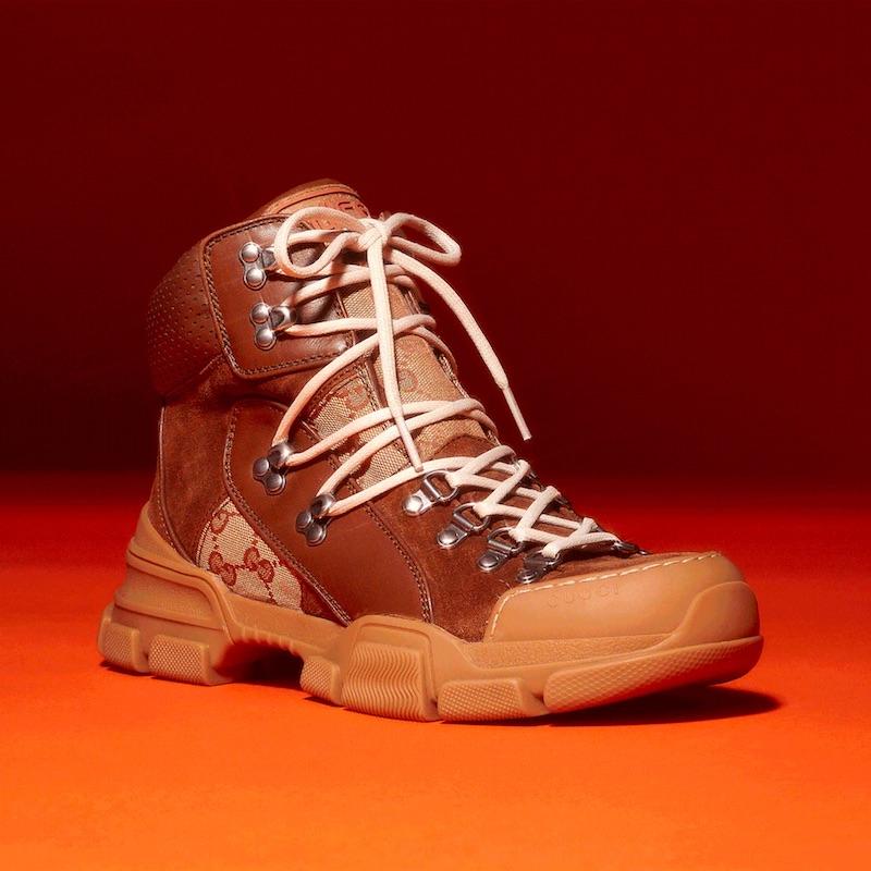Gucci Women s Flashtrek Hiker Boots