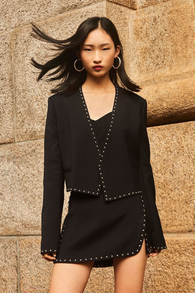 Helmut Lang Studded Suit Jacket