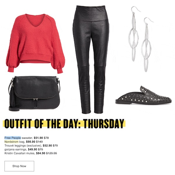 OUTFIT OF THE DAY // Thursday at NORDSTROM Anniversary Sale