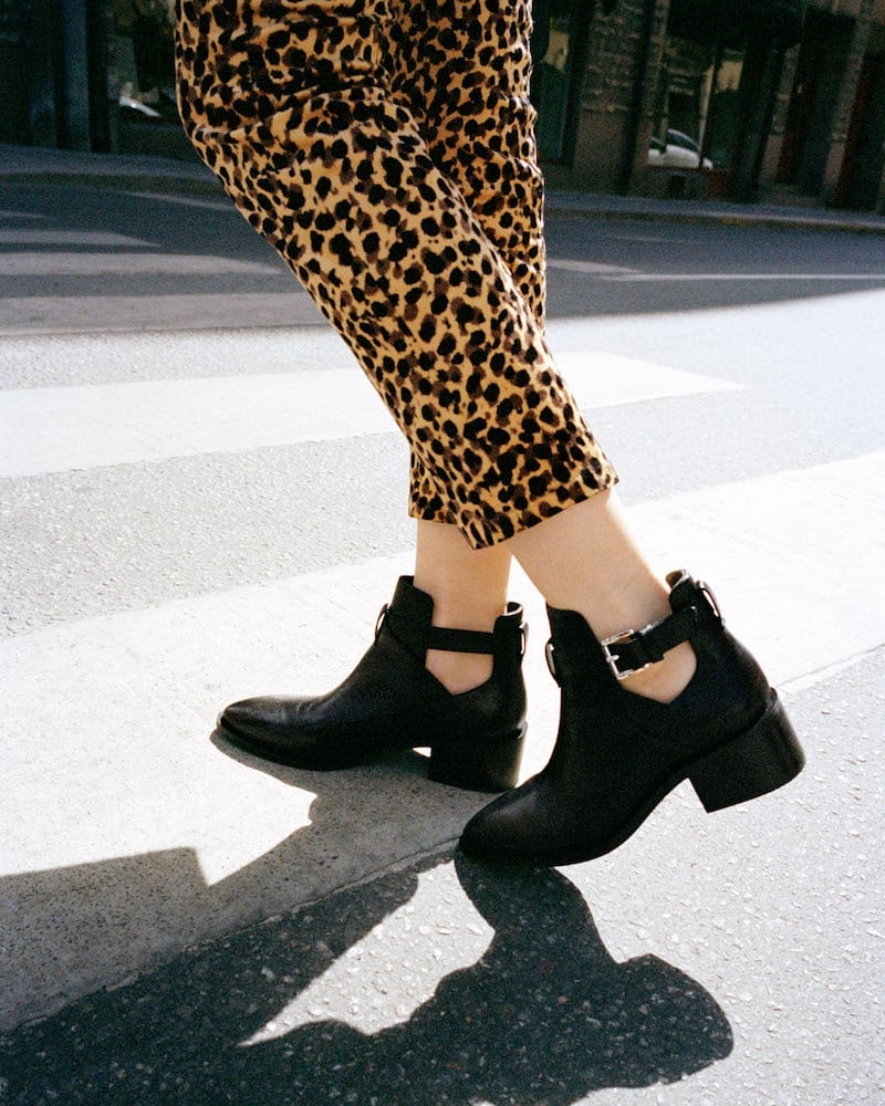 & Other Stories Cut Out Ankle Boot