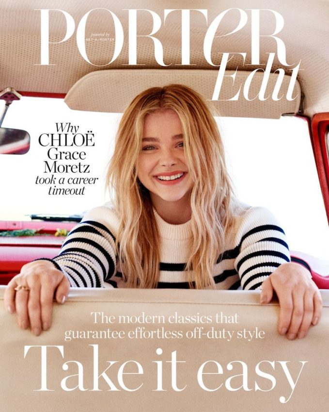 Sonic Youth: Chloë Grace Moretz for The EDIT