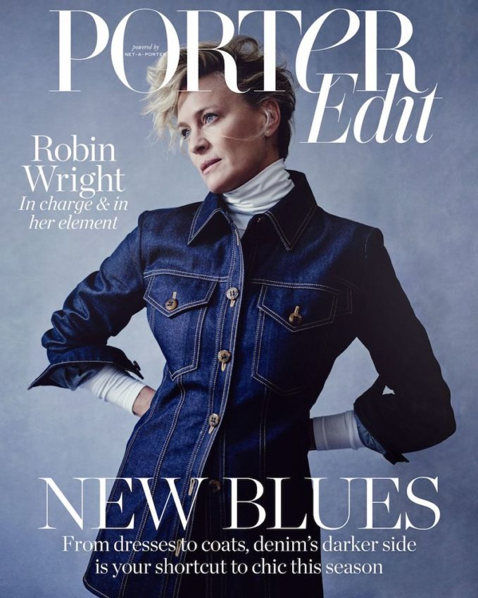 The Good Fight: Robin Wright for The Edit
