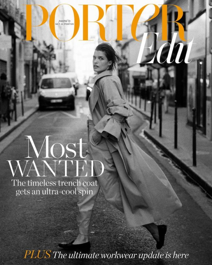 The Great Cover-Up: Julia van Os for The EDIT