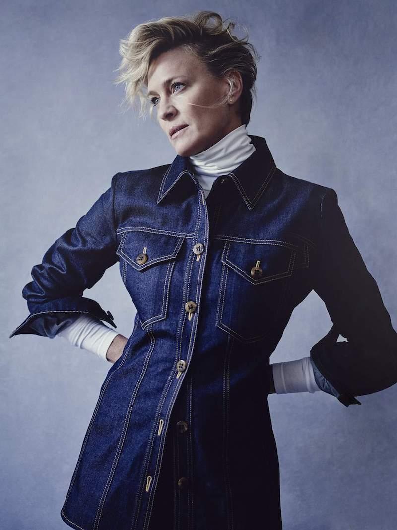 Victoria, Victoria Beckham   Belted Denim Shirt