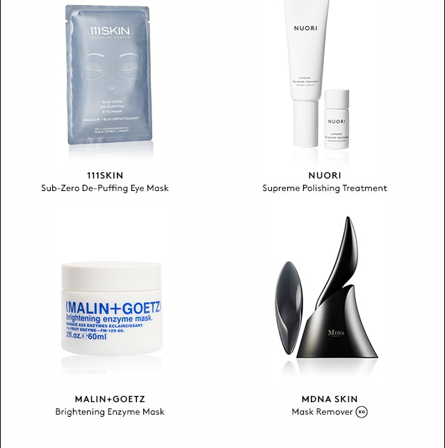 From Malin & Goetz, MDNA, 111Skin, and more