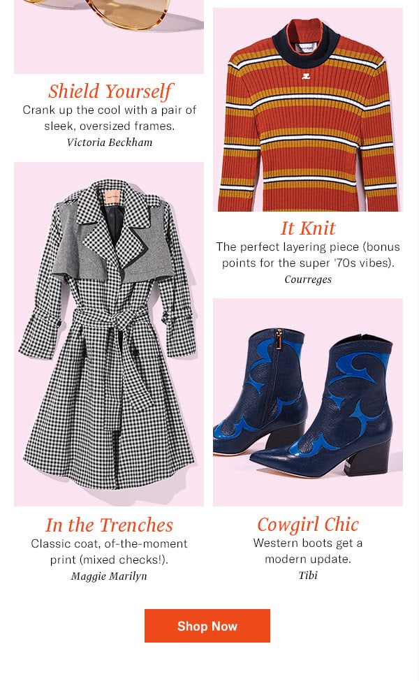 7 standout styles our staffers are loving (and wearing!) this month.