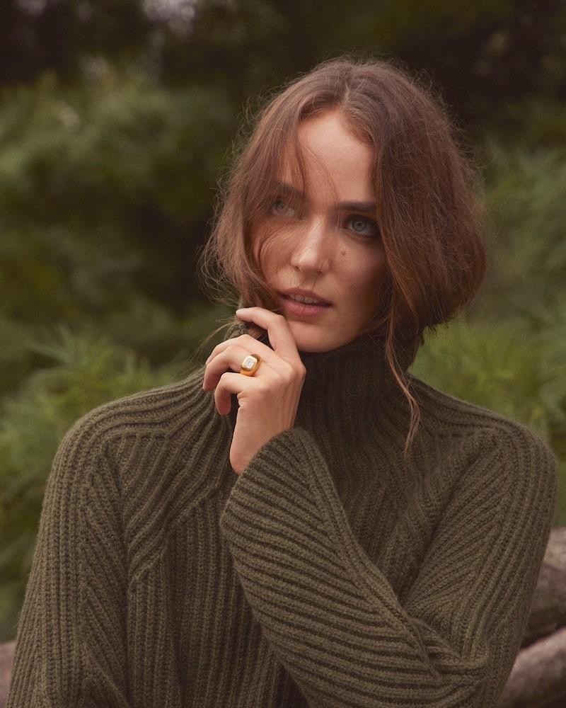 Barneys New York Cashmere Oversized Sweater