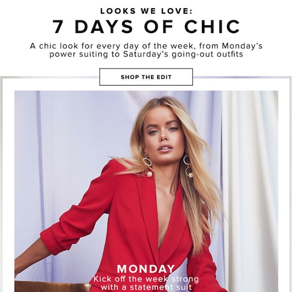 Looks We Love // 7 Days of Chic