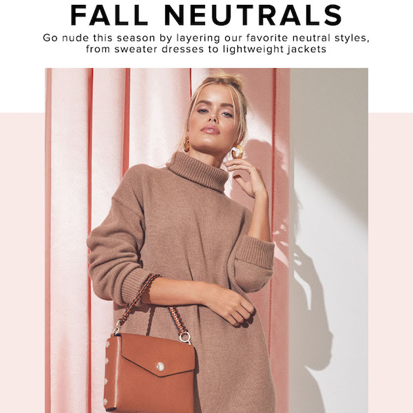 Looks We Love // Fall Neutrals 2018