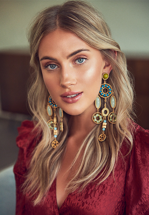 Marc Jacobs Jeweled Statement Earring