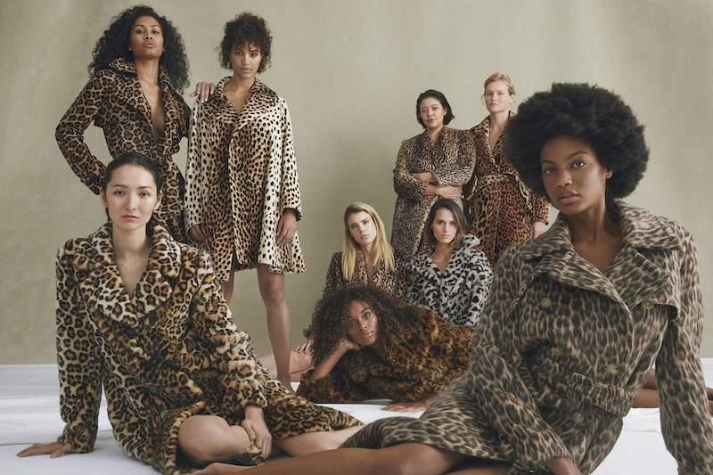 Michelle Mason Leopard-Print Faux Fur Coat