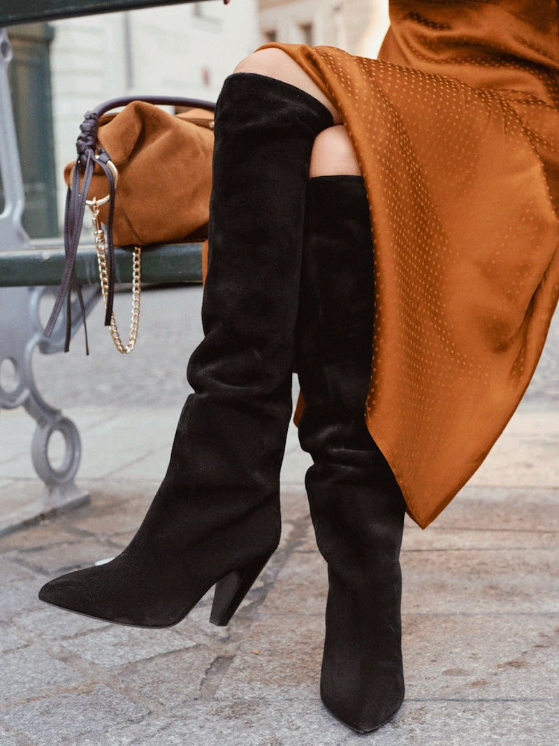 & Other Stories Knee High Leather Boots