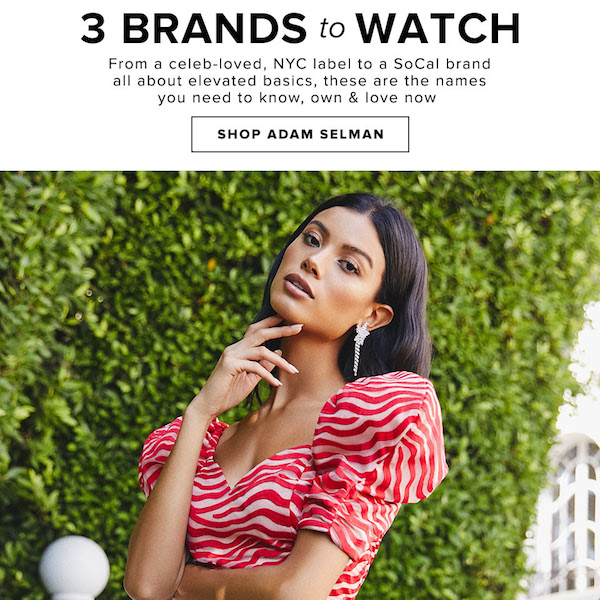 Brands We Love // 3 Brands to Watch Fall 2018