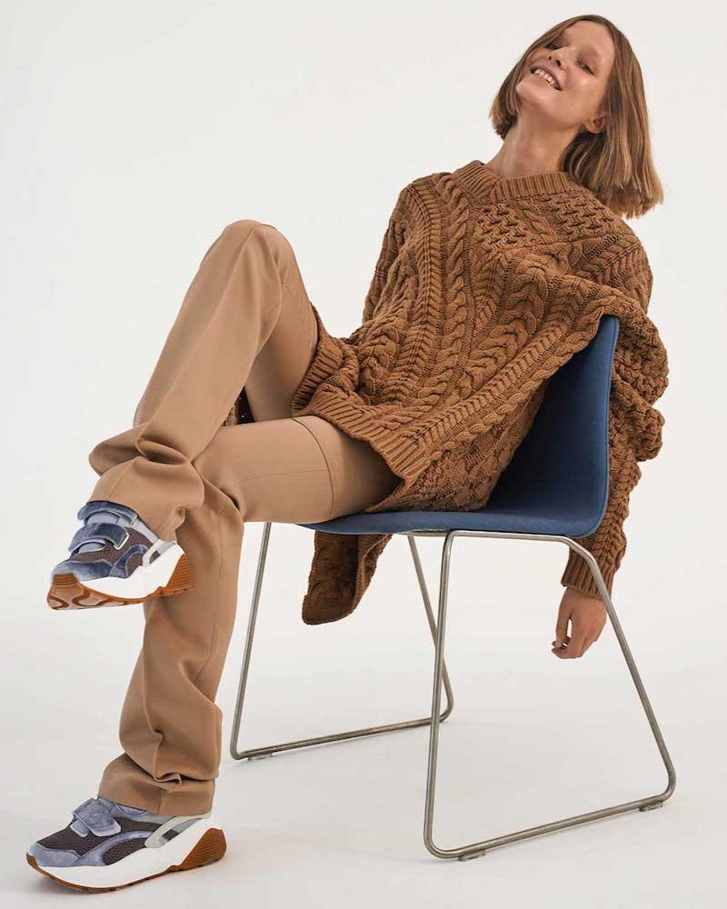 Stella McCartney Oversized Virgin-Wool Blend Sweater